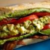 Guacamole Deviled Egg Salad BLTs