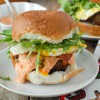 Juicy Bacon-and-Egg Cheese Burger