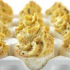 Bacon & Cheddar Deviled Eggs