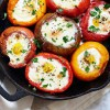 Easy Eggs Baked in Tomatoes
