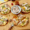 Grilled Breakfast Pizza with Sausage Gravy