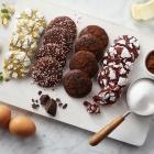 Chocolate Sprinkle Crinkle Cookies