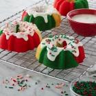 Mini Holiday Bundt Cakes