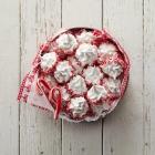 Peppermint Meringues Snow Peak Cookies