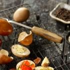 Smoked Hard-Boiled Eggs